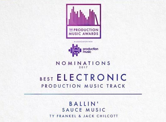 Production Music Award