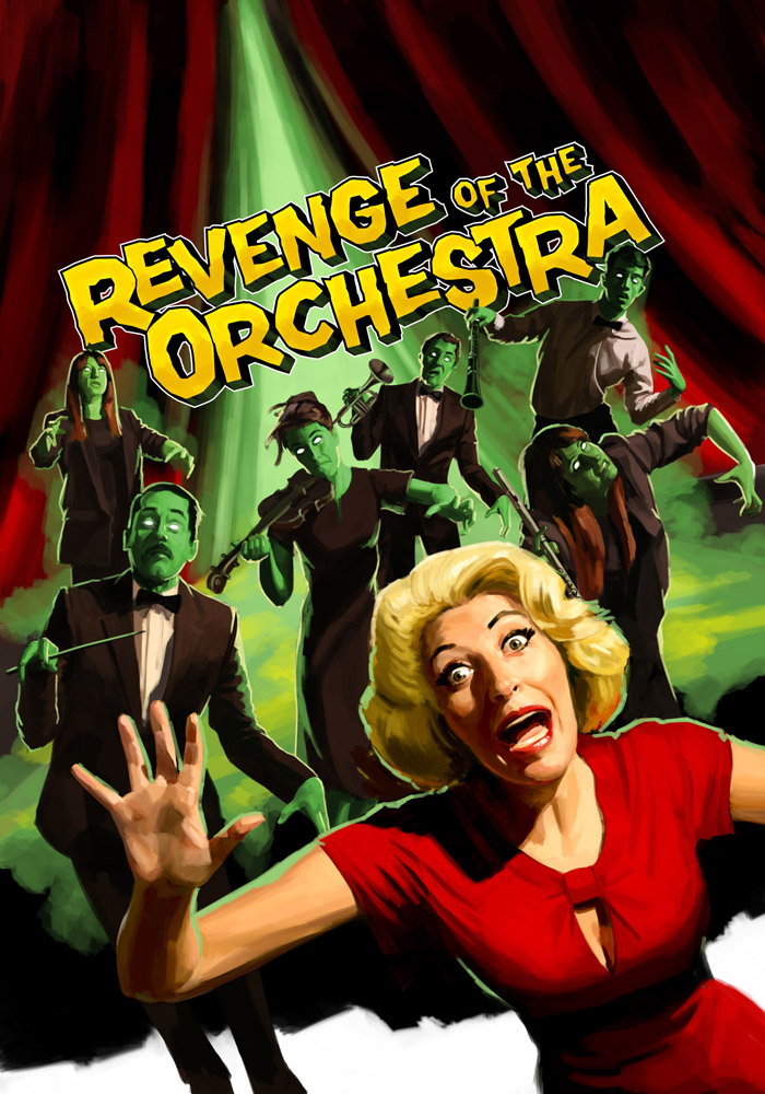 Revenge of the Orchestra by The Red Dress