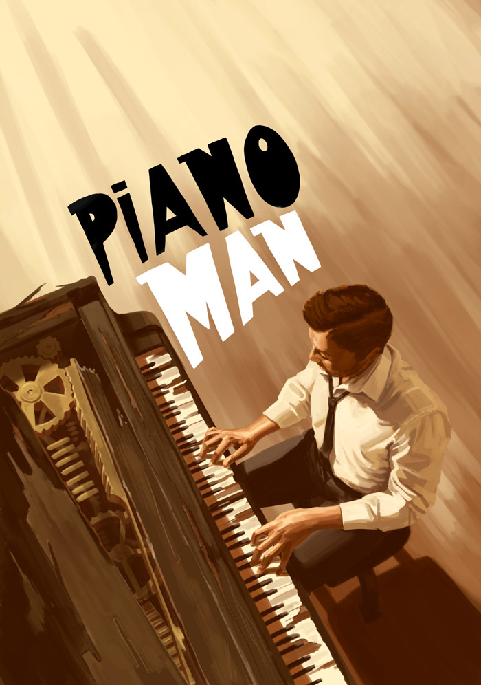 Piano Man by The Red Dress